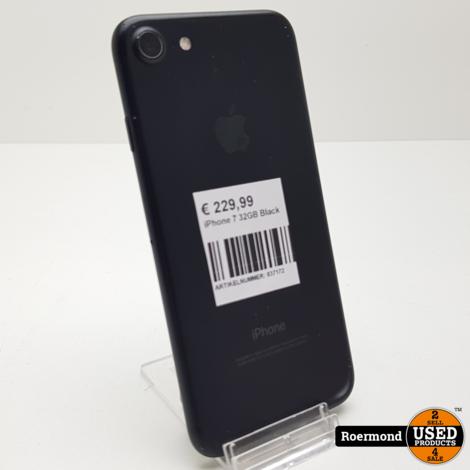 iPhone 7 32GB Black I Gebruikt