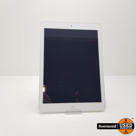 Apple iPad Air 1 16GB Wifi Silver | Gebruikt