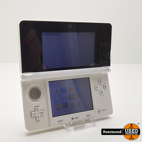 Nintendo 3DS incl Lader + pennetje | Gebruikt