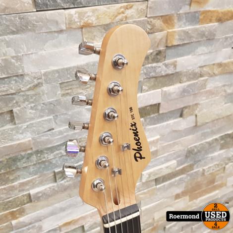 Phoenix STC 150 Tobacco Sunburst Electrische Guitar   Nieuw