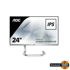 aoc AOC PDS241 Black/Silver Full HD Ultra Slim Monitor | Zgan
