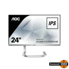 aoc AOC PDS241 Black/Silver Full HD Ultra Slim Monitor | Gebruikt