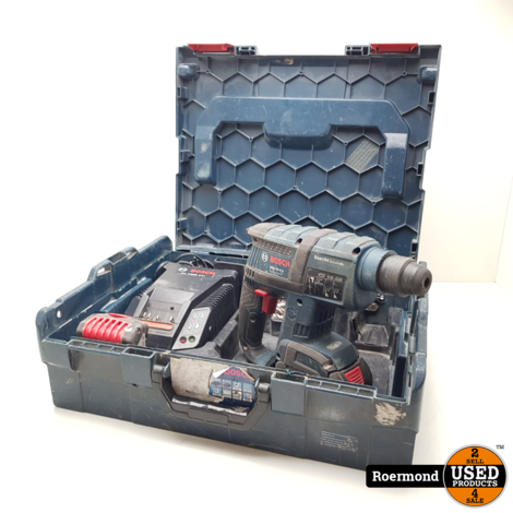 BOSCH GBH18 V-Li Professional met 2 accu's in koffer   Gebruikt