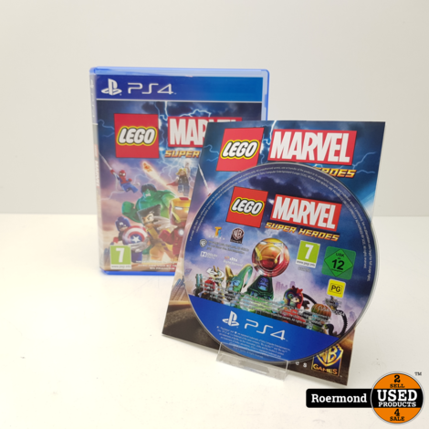 Lego Marvel Super Heroes || Playstation 4 (PS4) Game