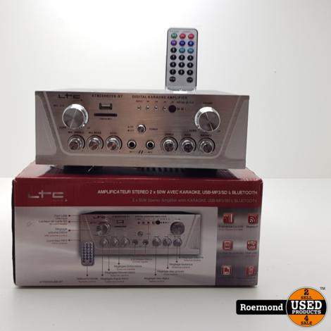 LTC Audio ATM2000USB-BT Karaoke versterker || Nieuw