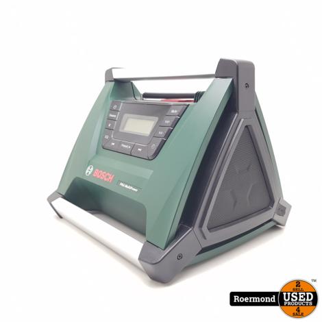 Bosch PRA MultiPower Accu Radio (met stroomadapter/zonder accu) | Nette staat