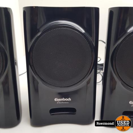 Eisenbach B810V27 5.1 Speakerset Zwart | Gebruikt