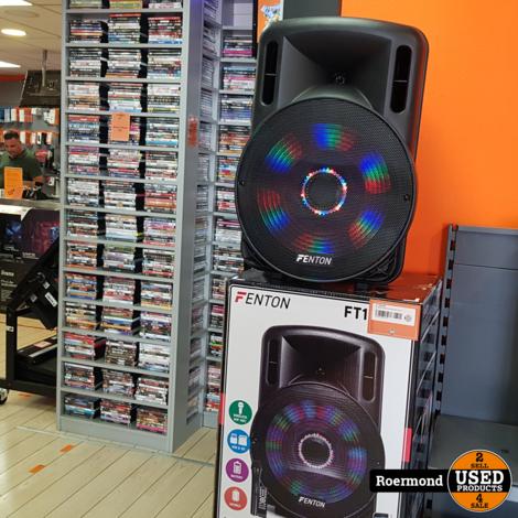 FT15LED SOUND SYSTEM 15 INCH Karaoke Set | Nieuw