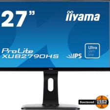 Iiyama IIyama ProLite XUB2790HS 27 inch IPS FHD Monitor || Zgan