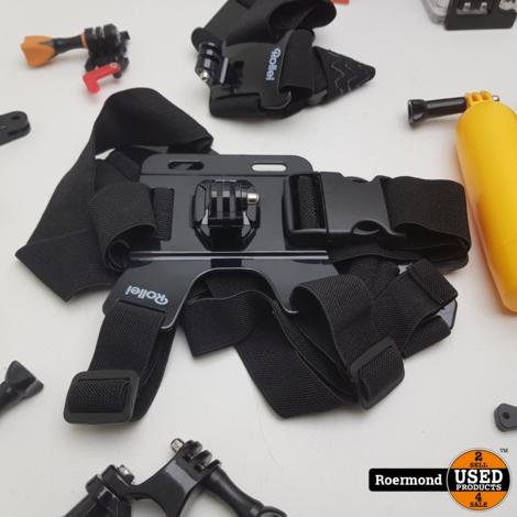 Rollei 625 Action Cam Compleet | Gebruikt