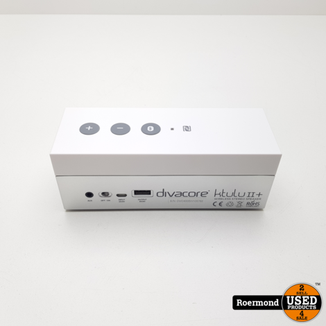 Divacore Ktulu II+ NFC Bluetooth speaker Powerbank