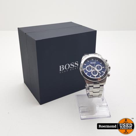 Hugo Boss Steel Chrono HBHB1512963 | Gebruikt