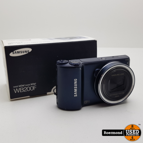 Samsung WB200F 16.4MP Compact Camera | Nette staat