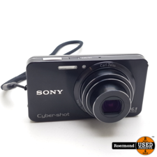 Sony Sony DSCW570 16Mp Compact Camera met lader   Gebruikt