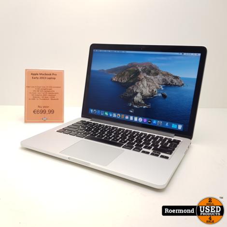 Apple MacBook Pro (Early-2013) Retina i5 8Gb 256Gb SSD | 1 jr. garantie