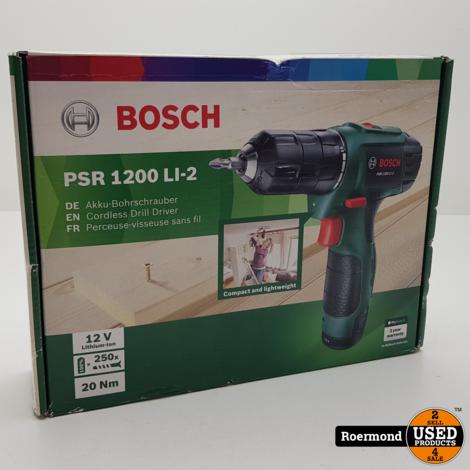 Bosch PSR 1200 Li-2 Accuschroever I NIEUW