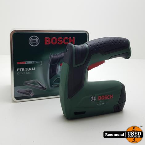 Bosch PTK 3,6LI + office attachment I ZGAN