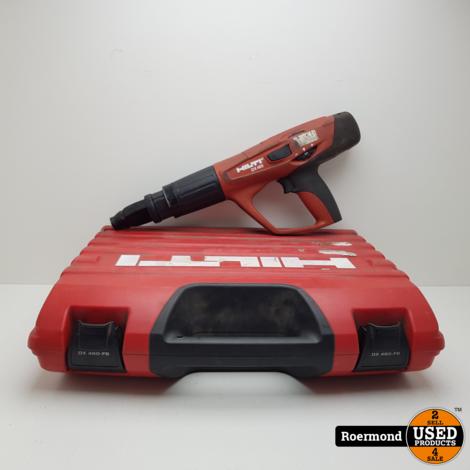 Hilti DX 460 Betonschieter met patronen | Gebruikt in kist