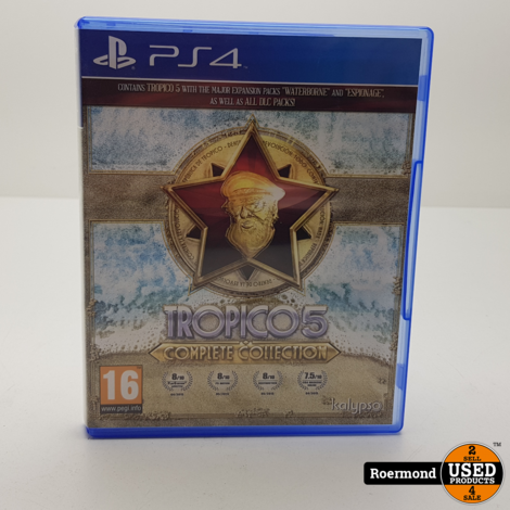 PS4 | Tropico 5 Complete Collection