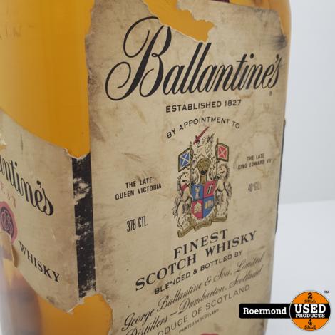 Fles Ballentines 378CTL van 1975   Vintage