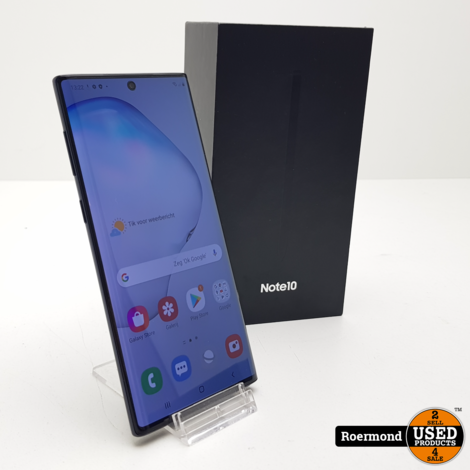 Samsung Galaxy Note 10 256Gb Aura Black | Nette staat