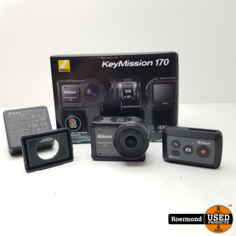 Nikon Keymission 170 4K draagbare camera | Zgan
