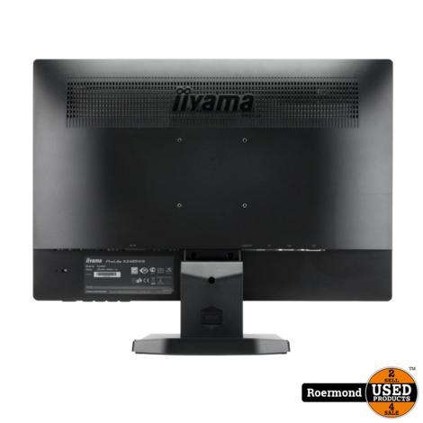 Iiyama ProLite X2485WS 24 inch Full HD 75Hz 5ms IPS Monitor   nette staat