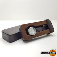 G-Moritz G-Moritz Paris Horloge 42mm bezel met doosje (Bruin) | Zgan