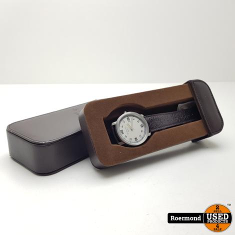 G-Moritz Paris Horloge 42mm bezel met doosje (Bruin) | Zgan