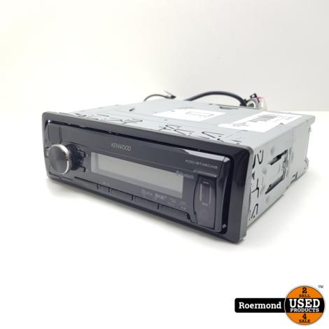 Kenwood KDC-BT48DAB Autoradio I Gebruikt