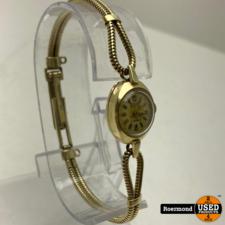 goud Civis 17 Rubis Gouden 14 karaats 14.9gr Vintage Horloge