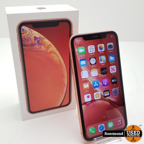 iPhone XR 128GB Coral I ZGAN