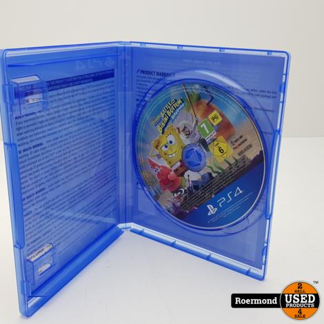 Bikini Bottom SpongeBob PS4 Game