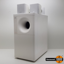 bose Bose Acoustimass 3 series IV met ophang beugels wit | Nette staat