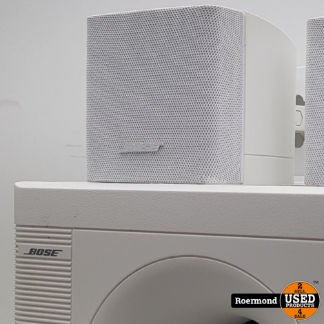 Bose Acoustimass 3 series IV met ophang beugels wit | Nette staat