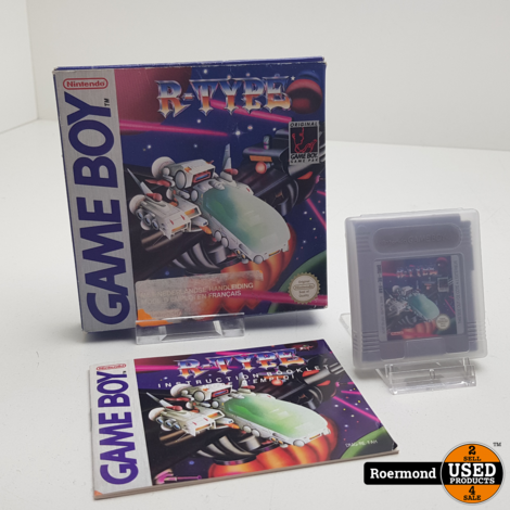 Gameboy R-Type Game Compleet