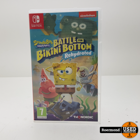 Battle for Bikini Bottom Nintendo Switch Game