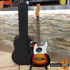 fender Fender Telecoustic Premier met koffer I Gebruikt