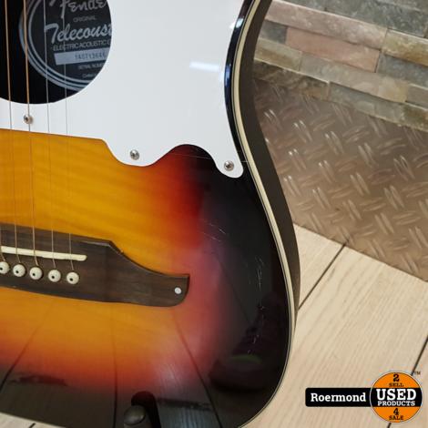 Fender Telecoustic Premier met koffer I Gebruikt