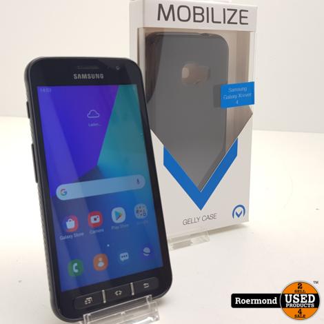 Samsung XCover 4 Black 16GB met gratis hoesje