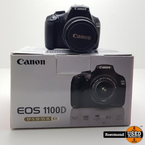 Canon EOS 1100D + kitlens EF-S 18-55 I ZGAN