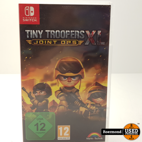Tiny Troopers XL Switch Game