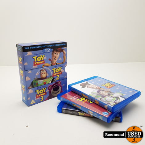 The Complete Toy Story Collection Blu-Ray