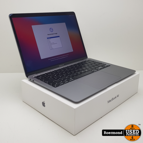 Macbook Air 2020 M1 256GB SSD 8GB RAM I Nieuwstaat