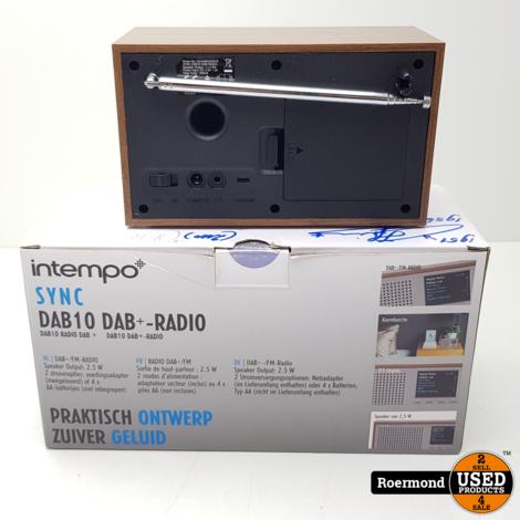 Intempo Sync DAB10 DAB+-Radio I ZGAN