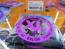 D'Addario XL Nickel Round Wound string set electric, super light