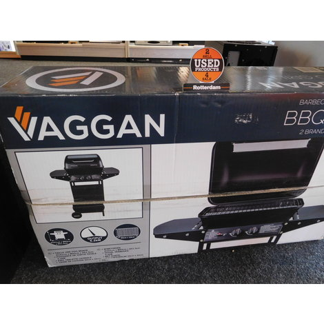 Vaggan gas BBQ grill 2 pits ! *NIEUW*