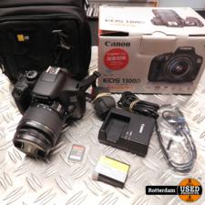 Canon EOS 1300D + 18-55mm f/3.5-5.6 IS II Zwart