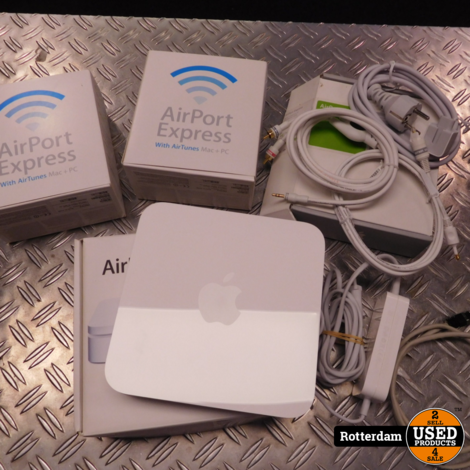 AirPort Extreme 802.11n (2e generatie) Met 2 base stations