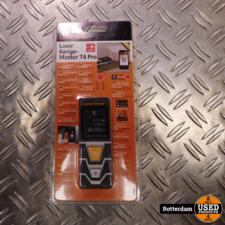 Laserliner Laderrange-Master T4 Pro (40m) afstandsmeter met Bluetooth